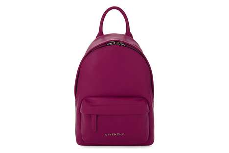 Luxe Mini Fuchsia Backpacks
