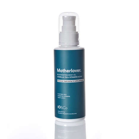 Post-Baby Skincare Oils - 10 & Co.'s 'Motherlover' is a Rejuvenating Body Oil for New Mothers