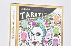 Tarot-Themed Face Mask Sets - The 'Dr. Jart + Tarot Of Masks' are Branded Like a Deck of Cards