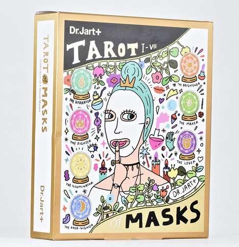 Tarot-Themed Face Mask Sets