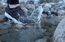 Waterproof Knit Shoes - These Lightweight and Breathable Shoes Will Deflect Rain, Mud and Snow