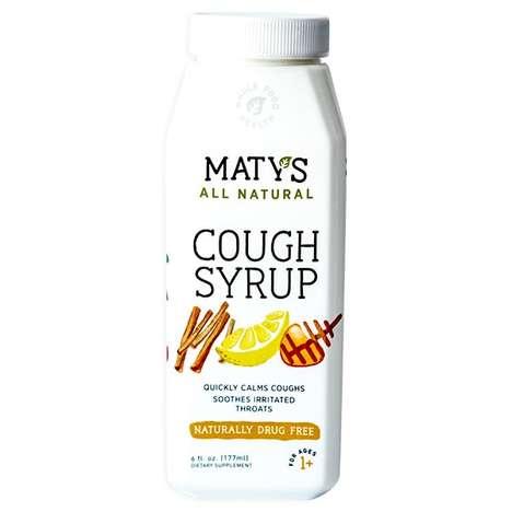 Drug-Free Cough Syrups