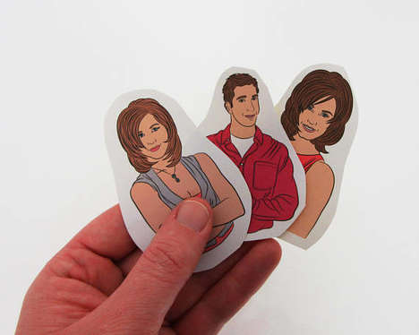 90s Sitcom Stickers - Etsy's bestieclub Shop Offers Pop Culture-Inspired Sticker Sets