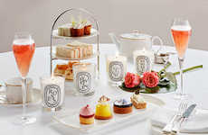 Fragrance-Themed Tea Services