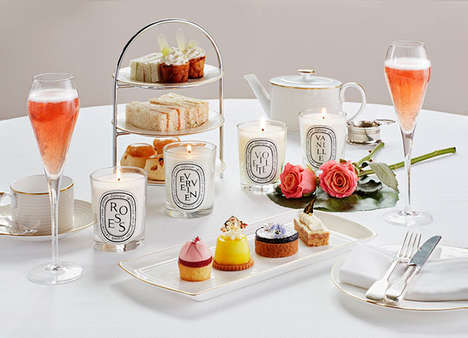 Fragrance-Themed Tea Services - London's Hotel Café Royal is Now Hosting a Diptyque Afternoon Tea