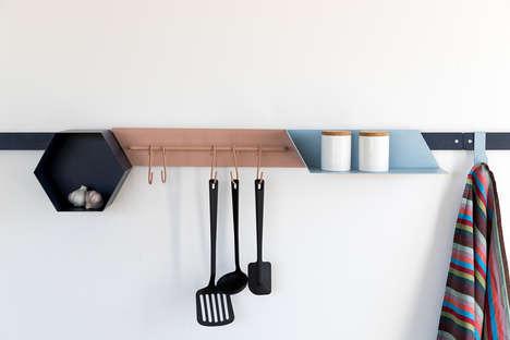 Modular Hexagonal Kitchen Storage
