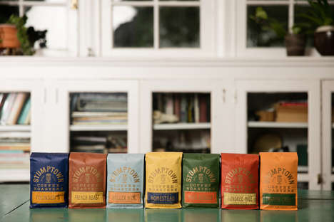 Color-Coded Coffee Bags