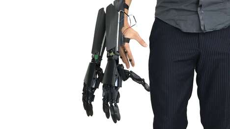 Dual-Handed Robotic Prosthetics - The Youbionic Double Hand Increases Capabilities When Worn