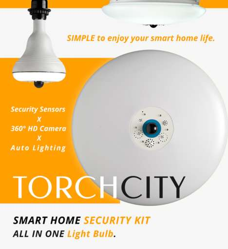 Security System Lightbulbs