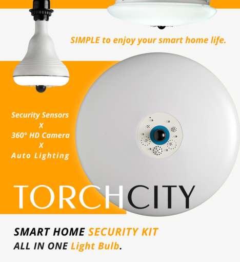 Security System Lightbulbs
