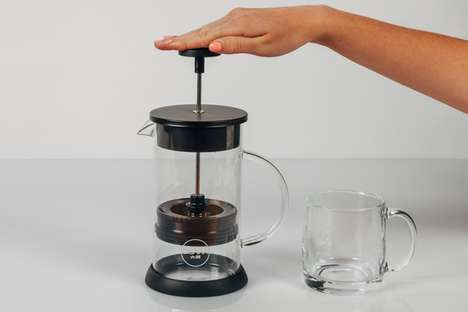 Ground-Free French Presses