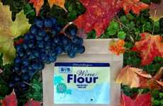 Booze-Infused Cooking Flour - The Finger Lakes Wine Flour is Packed with Nutrients