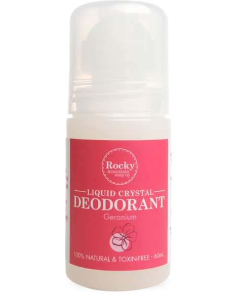 Botanical Crystal Deodorants