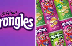 Board Game Brand Snacks - Original Prongles are from the Makers of Card Against Humanity