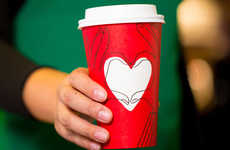 Customizable Holiday Coffee Cups