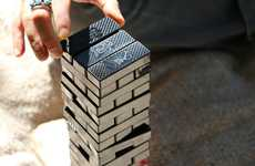 Upcycled Block Stacking Games