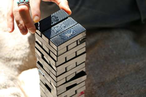 Upcycled Block Stacking Games - 'Jenga Ocean' Features Blocks Made from Recycled Fishing Nets
