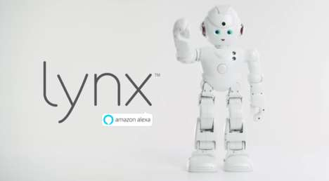 Voice-Activated Humanoid Robots - UBTECH Robotics' 'Lynx' is a Video-Enabled Robot with Amazon Alexa