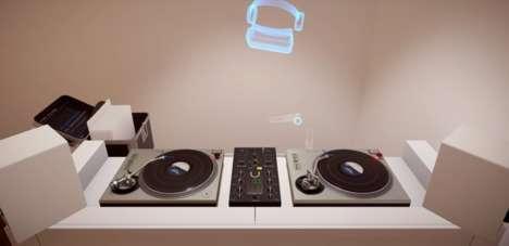 Virtual DJ Turntables