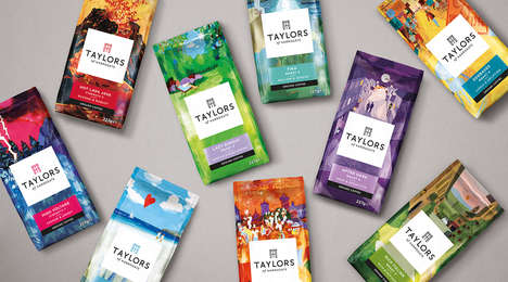 Taylors of Harrogate's New Brand Identity Features Illustrated Landscapes