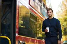 Biofuel-Incorporating Metropolitan Buses - London Buses are Using a Coffee Ground-Derived Fuel