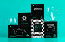 Illustrated Coffee Gear Branding