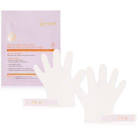 Beautifying Hand Masks - Karuna's Age-Defying+ Hand Mask Rebuilds Collagen and Boosts Hydration