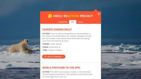 Emoji Activism Extensions - This Social Action Project Shows How to Get Involved with World Issues