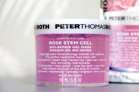 Stem Cell Gel Masks - This Peter Thomas Roth Face Mask Uses Cutting Edge Rose Stem Cell Technology