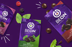 Caffeinated Chocolate Dots - 'BeOn' Makes Energy Chocolate That Can Replace a Cup of Coffee