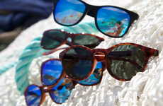 Plastic Waste Sunglasses - The Sea2See Sunglasses Utilize Plastic Waste to Keep it Out of the Oceans