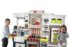 High-End Kitchen Playsets