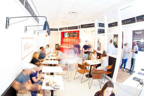 Urban Cereal Cafes - Kellogg's Cereal Cafe Has Opened a Permanent Space in NYC's Union Square