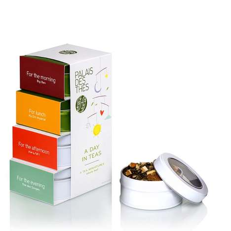 Daily Tea Kits - Palais des Thés' 'A Day in Tea' Set Features Portions for Morning and Night