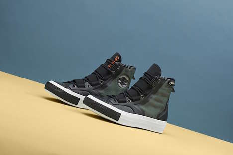 Waterproof Sneaker Collections - Converse's Urban Utility Collaboration Features Weather-Proof Shoes
