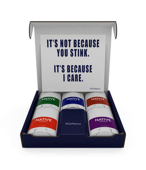 Non-Toxic Deodorant Kits - NATIVE's Deodorant Sampler Pack Features Five Natural Products