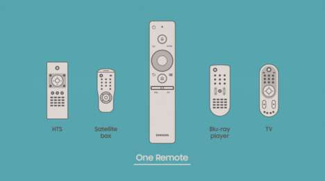 All-in-One Television Remotes