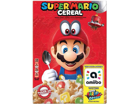 Video Game-Celebrating Cereals