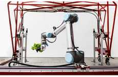 Robot-Staffed Greenhouses - Iron Ox Only Uses Farming Robot Employees to Grow Their Lettuce