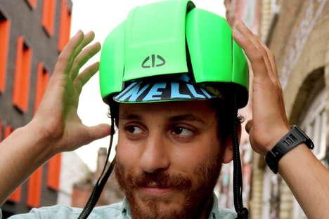Eco-Friendly Folding Helmets