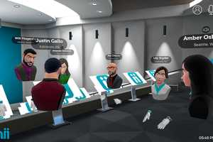 Collaborative VR Meeting Software