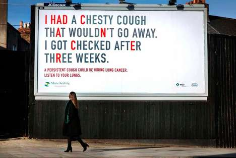 Coughing Billboard Campaigns
