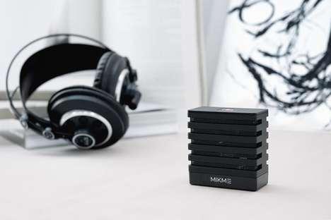 Wireless Mobile Audio Microphones