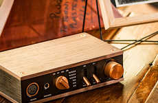Antiquated Audio Amplifiers
