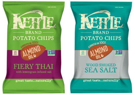 Almond Oil Potato Chips