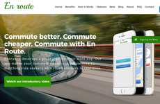 Cost-Effective Carpooling Apps - The 'En Route' Ridesharing App Matches Up Commuters
