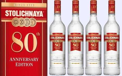 Anniversary Recipe Vodkas
