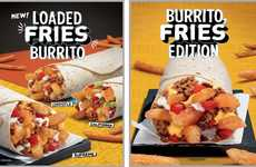 French Fry-Packed Burritos