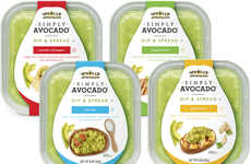 Avocado-Based Spreads - Wholly Guacamole's 'Simply Avocado' Dips and Spreads are Vibrantly Flavored