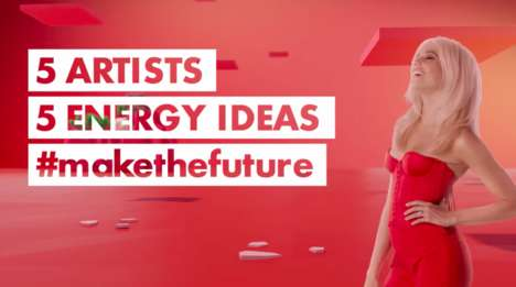 Millennial-Targeted Energy Campaigns - Shell's #MakeTheFuture Has Global Artists Share Energy Ideas